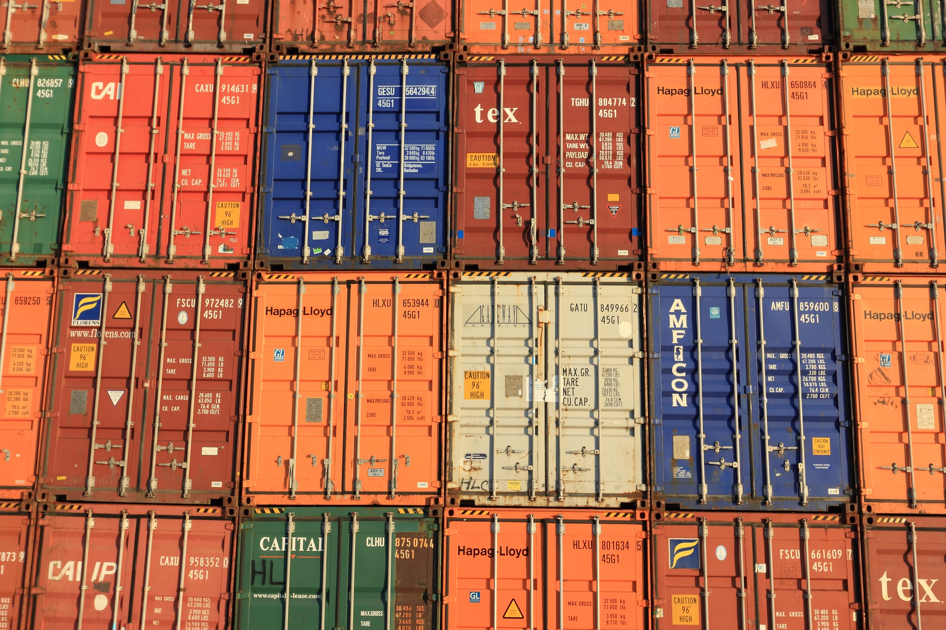 Gefahrengut - Container